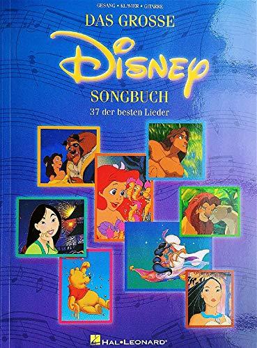 Das Grosse Disney Songbuch. Für Klavier, Gesang & Gitarre(mit Griffbildern)