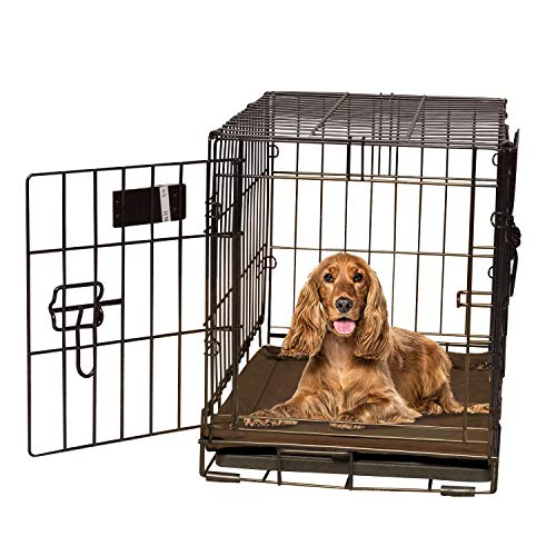 K&H Pet Products Self-Warming Crate Pad Mocha Medium 21 X 31 Inches