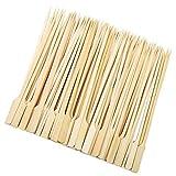 Mclcvp7re 200 Palos de bambú para Pinchos, Palos de...