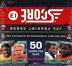 2013 Score Hobby Football Jumbo Box - Sports Memorabilia