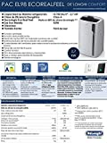 De'Longhi Pinguino PAC EL98 ECO RealFeel Mobiles Klimagerät mit Entfeuchtungs-Funktion,Flüster-Version,  Energieeffizienzklasse A - 6