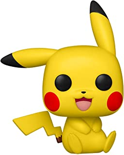 Funko Pop! Games: Pokemon - Pikachu (Sitting)
