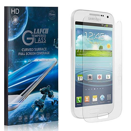 1 Stück Schutzfolie für Galaxy S4 Mini, LAFCH Displayschutzfolie für Samsung Galaxy S4 Mini, 3D Full Cover Panzerglasfolie, Anti-Kratzer/9H Härte