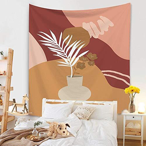 KHKJ Arco Iris Tapiz Sol y Luna Elefante Tapices de Tela de Pared Tapices de Tela de Pared Estera de Playa de Arena Manta de Toalla Manta decoración A21 95x73cm