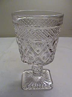 Vintage Imperial Glass Cape Cod-Clear 5 3/8
