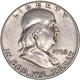 1952 Franklin Half Dollar 90% Silver Fine