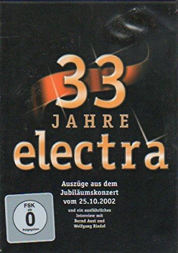 33 Jahre Electra.das Jubiläum [Alemania] [DVD]