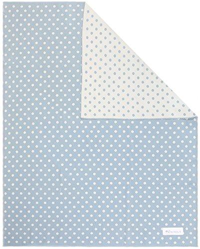 Kindsgut Manta para Niños, Manta Suave para Bebes, con puntos, Algodón, 80 x 100 cm, Manta Acogedora para Bebes/Niños pequeños, ecológico y libre de contaminantes