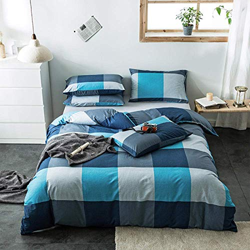 Bedding Sets Four-Piece Bed Three-Piece Bed Bedding Bed Cover Printed Four-Piece Bed Sheet Duvet Cover Student Bedding-Hc Toureran_Three-Piece Duvet Cover: 160*210 Bed Sheet: 180*230 Pillowcase: 48*74