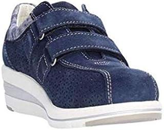 VALLEVERDE Scarpe Donna Sneakers 17146-BLU Navy CAMOSCIO (35 EU)