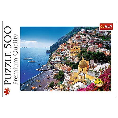 Trefl- Puzzle Positano Italy, 371451