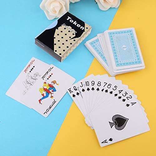YOUAI Cartão de pôquer, cartas secretas marcadas de pôquer, adereços mágicos, simples mas inesperados, truques de mágica - poker Tiaoyu
