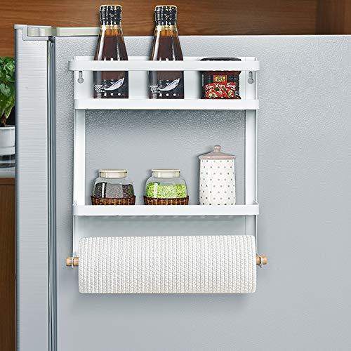 Magnetic Fridge Spice Rack Organiser Hanging Rack Refrigerator Spice...