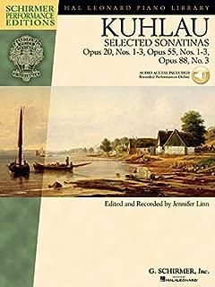 Kuhlau Selected Sonatinas Piano Schirmer Performance Editions (hal Leonard Piano Library: Schirmer Performance Editions)