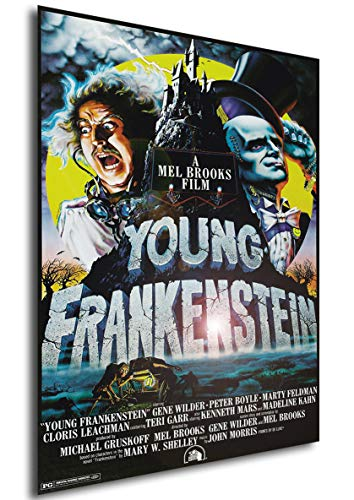 Instabuy Poster Frankenstein Junior Vintage Locandina - Formato (42x30 cm)