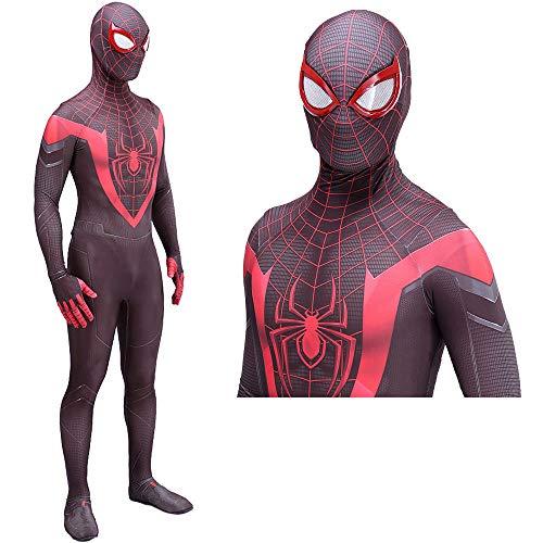Disfraz de Spiderman Disfraz y Cosplay - Disfraz de Spiderman para niños/Adultos...