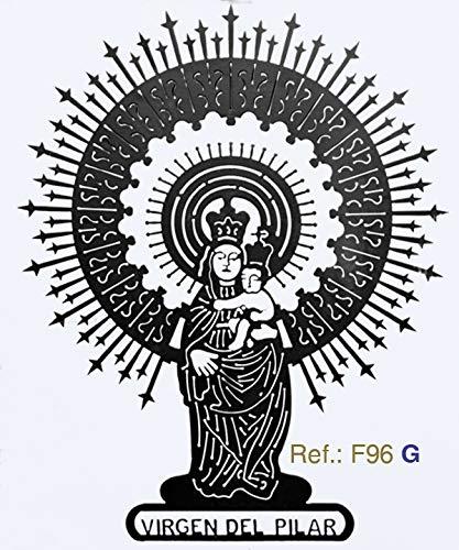 Rustiluz Escultura Virgen del Pilar f96