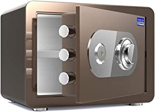 Safes Small Home Safes, All-steel Fireproof and Anti-theft Safes, Mechanical Code Locks, Secure Office Supplies for Hotel...