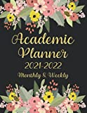 Academic Planner 2021-2022: Weekly and Monthly School Year Calendar 8.5 x 11 , July 2021 to June 2022 | College Student Daily Record Book with Holiday ... Cover (ACADEMIC PLANNER 2021/2022 vol.2)