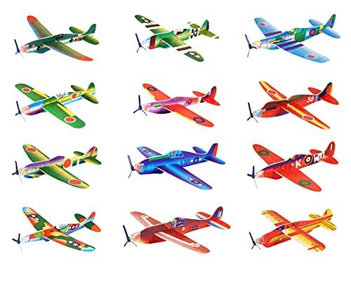 HENBRANDT Lot de 24 Avions/Planeurs pour Enfant