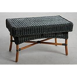 Table basse en rotin (Table basse)