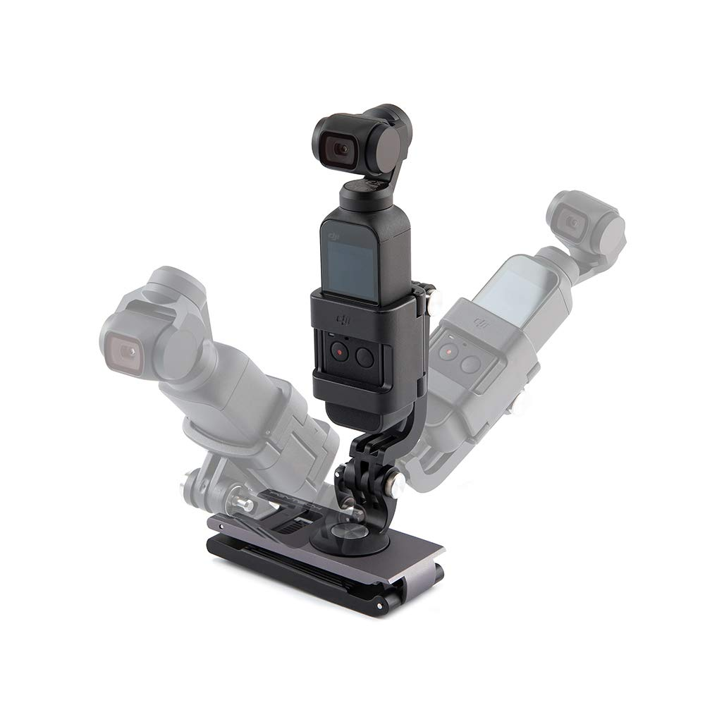Cold Shoe Extension Bracket ABS Plastic Camera Extension Bracket 1//4 Inch Screw with 3 Cold Shoe Mount for OSMO Action//Pocket//GoPro