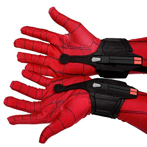 Spider-Man Cosplay Launcher Bracers Peter Parker Spiderman Bracers Accessories Black Shooter Props Decorate