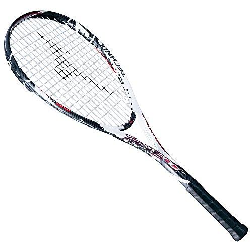 MIZUNO(ミズノ) ソフトテニスラケット張上げ TECHNIX 200 63JTN67509 09:ホワイト×ブラック 00ZG