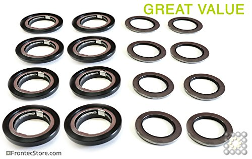 8x Axial Joint ring and 8x Counter Ring 58mm; Alliance, IPSO, Cissel, Huebsch, Unimac, JLA, Primus, & Lavamac