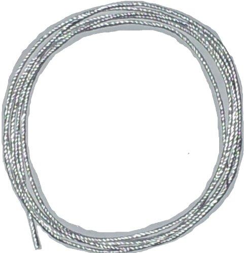 Ekowool Silikatschnur Ø 3mm / Länge: 2 Meter (Grundpreis: EUR 4,00/m) geflochten mit 16 Silikatfäden innen - Ekowool Silica wick