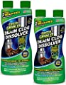 Green Gobbler Liquid Hair & Grease Clog Remover | Drain Opener | Drain cleaner | Toilet Clog Remover - 2 Pack