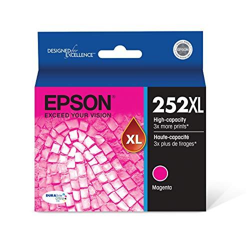 Epson T252XL320 - Ink Cartridge - Magenta - DURABrite Ultra High Capacity - Prime Eligible