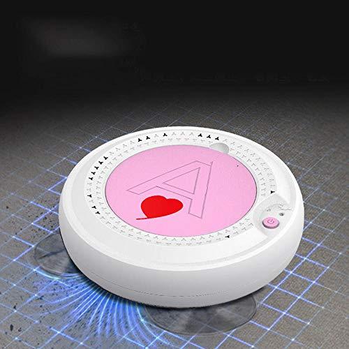ZHB ¡Cargar Robot Aspirador Aspiradora Automática Doméstica Aspiradora Inteligente Perezosa-Rosa