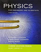 Student Solutions Manual: for Physics for Engineers and Scientists, Third Edition (Vol. 1) by Hang-Deng Luzader (2007-08-30)