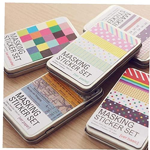 Ruluti 27 Unids/Caja De Papelería De Papel Libros De Mano Etiqueta Engomada Etiqueta Etiqueta DIY Diario Sticker Supplies Material Escolar Kawaii