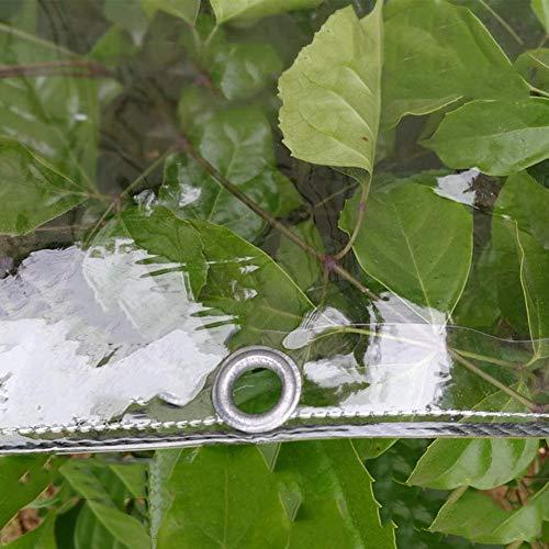 Tarps 03 mm dik zeil waterdicht hoogwaardig kwaliteitsdoek doorzichtige ritssluiting voor gebruik bij alle weersomstandigheden buiten (grootte: 1 × 1 m) 2×3m