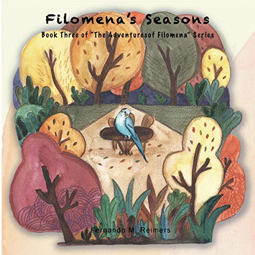 Filomena's Seasons audiobook cover art