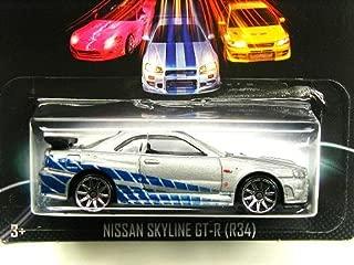 [ 2013 ] Hot Wheels Fast and the Furious FAST u0026 FURIOUS Nissan Skyline (R34) GT-R # 3/8