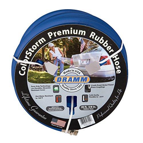 """Dramm 17105 ColorStorm Premium Rubber Hose 5/8"""" x 25"""