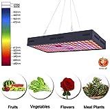 1500W LED Pflanzenlampe, Volles Spektrum Pflanzenleuchte mit Leistungsstarkem Kühlsystem für Gemüse und Blumen im Innenbereich