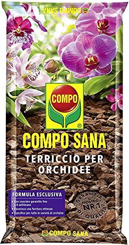 COMPO SANA Terriccio per Orchidee, Per una fioritura ottimale, 5 l
