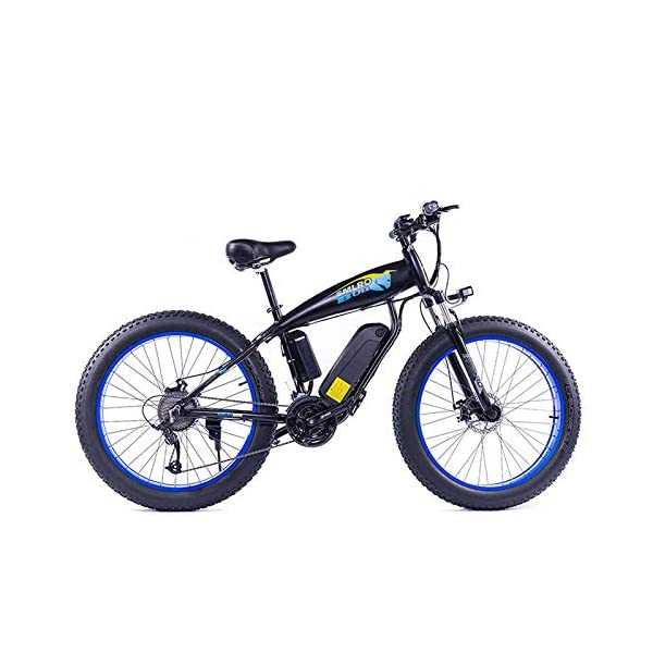 51qZbdPrTFL. SS600  - JASSXIN Moutainbike Electric Mountain Bike, 48V-Lithium-Batterie, High-Speed-Motor, Thick Reifen, Elektrisches Fahrrad, Thick Ebike, Max 70Km / H