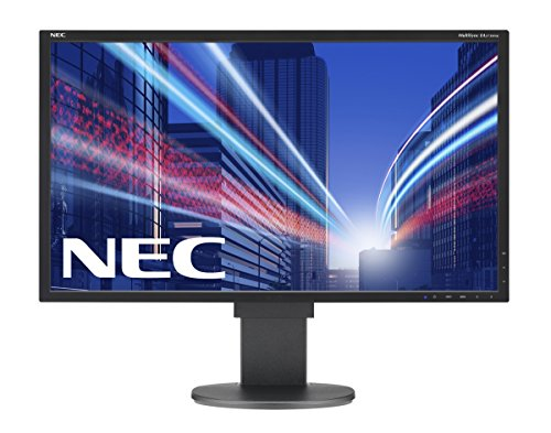 NEC MultiSync EA273WMi 68,58cm 27Zoll Wide 1920x1080 analog+digital DVI-D DP HDMI Speaker Has 1000:1 250cd 6ms schwarz