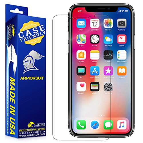 ArmorSuit MilitaryShield [Case Friendly] Screen Protector For iPhone 11 Pro (2019) - Anti-Bubble HD Clear Film