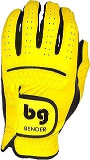 yellow golf glove
