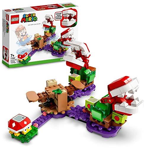 LEGO 71382 Super Mario Piranha-Pflanzen-Herausforderung – Erweiterungsset, Limonadendschungel, sammelbares...
