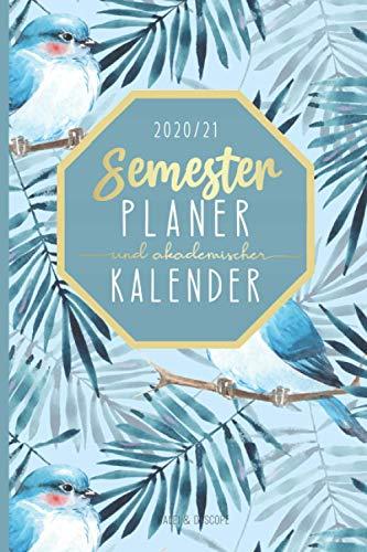 Semesterplaner und akademischer Kalender 2020/2021: Studienplaner Wintersemester 2020/21 und Sommersemester 2021 | Studentenplaner ab Oktober 2020