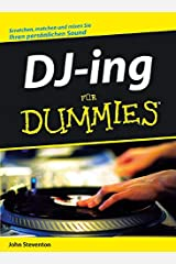 DJ-ing für Dummies (German Edition) Paperback