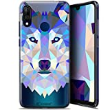 Case for 6.09 Inch Wiko View 3 Lite, Wolf Design