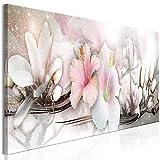 murando Cuadro en Lienzo Flores 120x40 cm Impresión de 1 Pieza Materia del Tejido no...
